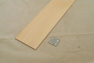 "1/16 x 2 x 23"" Model Lumber basswood building dollhouse 2pcs"