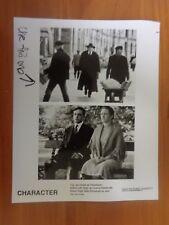 Vintage Glossy Press Photo Movie Character Jan Decleir Fedja Van Huet