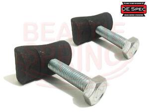 Chevy GMC Cadillac Torsion Bar Adjuster Adjustment Bolt and Nut - (Pair)