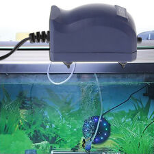 EU Plug Efficient Aquarium Air Pump Silent Oxygen Fish Tank Bubble Single Outlet