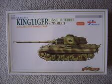 Dragon/Cyberhobby 1/35 SdKfz.182 Tiger II (Henschel turret) with zimmerit