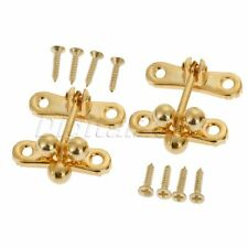 5X Cabinet Boxes Duckbilled Metal Toggle Latch Catch Hasp Bronze Tone S3F8