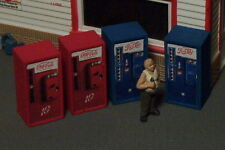 HO SCALE Vending Machines SODA POP 2C2P