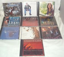 Lot of 10 Christian CD's, Sarah Kelly, One Name, Chanticleer, Young Messiah