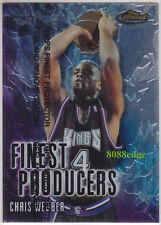 1999-00 TOPPS FINEST PRODUCERS: CHRIS WEBBER #FP2 KINGS 5 TIMES ALL-NBA TEAM
