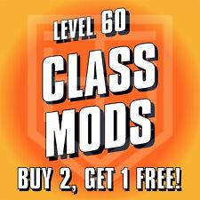 PS4 Borderlands 3 [CLASS MOD] BUY 2 GET 1! [LEVEL 60] COM Amara Zane FL4K Moze