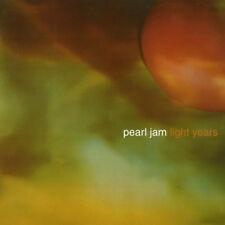"""PEARL JAM Light Years / Soon Forget YELLOW WAX 7"""" Binaural Avocado eddie vedder"""