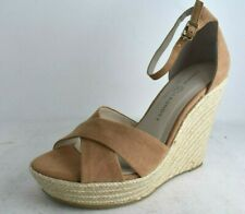 CHINESE LAUNDRY  Size 8.0, Camel Micro Suede Morgan Heel Sandals