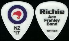 ACE FREHLEY-KISS-RICHIE SCARLET NEW ZEALAND 2017 TOUR GUITAR PICK!
