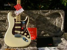 ♚NEW♚18 FENDER American STRATOCASTER ELITE♚OLYMPIC PEARL♚Deluxe*Ultra♚MAPLE CAP