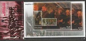 New Zealand 2002 The Lord of the Rings Amphilex 2002 FDC & Mint Mini Sheet