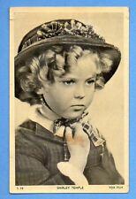 SHIRLEY TEMPLE  # S 35  VINTAGE POSTCARD PUBLISHER NETHERLANDS 576