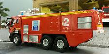 1:76 80 87 HO/OO/00 2001 RENAULT CAMIVA de la VIM modelo de rescate de bomberos de aeropuerto