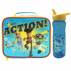 Disney Pixar Toy Story 4 Takin' Action Lunch Bag and Drinks Bottle *BRAND NEW*
