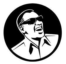 Ray Charles vinyl car Decal / Sticker