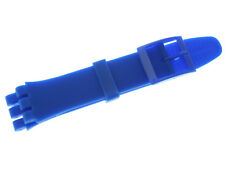 19mm New High Quality Soft Rubber Watch Band Strap Fits SWATCH