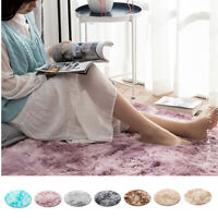 Large Plush  Soft Floor Mat Carpet Blanket Area Rug Cushion Home Decor Round