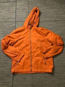 Levis Adult Mens Medium Lightweight Jacket Orange Windbreaker