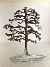 """Vintage Heinrichsen German Flat Lead """"Oak Tree"""""""