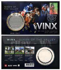 48th Birthday Winx Cox Plate Replica Medallion #48 /2017 Christmas Xmas FDC Race