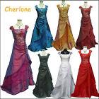Cherlone Off shoulder Long Ball Wedding/Evening Party Formal Bridesmaid Dress
