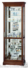 Howard Miller 680-286 Chesterfield - Traditional Cherry Curio Display Cabinet