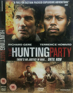 The Hunting Party DVD 2007  Richard Gere, Terrence Howard Adventure Comedy Movie
