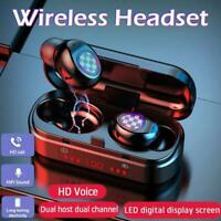Mini Bluetooth 5.0 Headset TWS Wireless Earphones Stereo Headphones Earbuds 2021