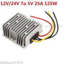 Voltage STEP-DOWN BUCK Power DC Converter Step Down Regulator 12V/24V To 5V 25A