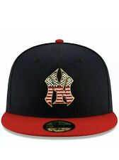 NEW YORK YANKEES NEW ERA 5950 Baseball Hat 4TH of July size 7 3/8  New With Tags
