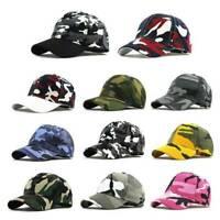 Men's Women Baseball Cap Snapback Hat Hip-Hop Adjustable Outdoor Sport Caps 1PC