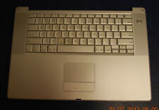 "OEM Apple 15"" PowerBook G4 Complete Keyboard/Palmrest/Mouse Assembly 613-4697-C"