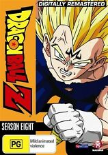 Dragon Ball Z Remastered Uncut Season 8 (Eps 220-253) NEW R4 DVD
