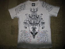 BULZEYE COUTURE SHIRT PRIDE GLORY LIONS KNIGHT EAGLE DAGGER SHIELD
