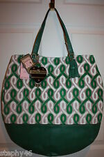 NEW! NWT! JUICY COUTURE Green Plush Velour BLONDIE Shoulder Tote Bag $250