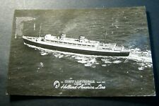 Old Postcards Holland-American line  PB5