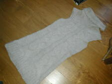 VERY LONG KNITTED JUMPER (dress?)  from NAFNAF  Marked XL  KEEP WARM STYLE!!
