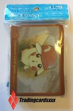 ♦Pokémon♦ 64 Protèges Cartes/Sleeves STANDARD Orange Pikachu de Sacha (Kalos)
