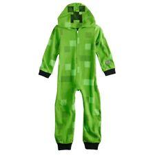 New Boys Minecraft Creeper Costume Union Suit 10