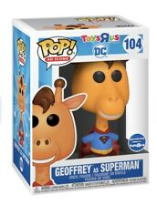 Funko POP! Ad Icons: DC - Geoffrey as Superman - Toys R Us Exclusive - PREORDER