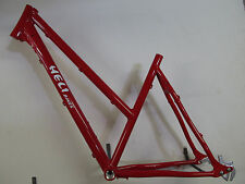 Heli-Bikes Comp Alfine Disc Cross Trekking Rahmen Damen 2017 50cm rot glanz