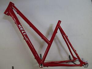 Heli-Bikes comp Alfine disc cross Trekking Frame Ladies 2020 19 11/16in Red
