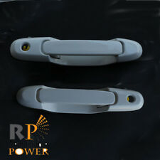 Fits 98-03 Toyota Sienna Outside Door Handle Front Left & Right White 040