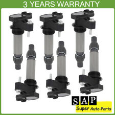 6PCS Ignition Coil UF569 For Buick Cadillac Chevrolet GMC V6 12590990 12610626
