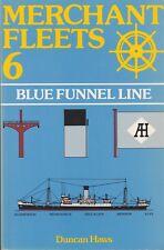 MERCHANT FLEETS N°6 BLUE FUNNEL LINE DE DUNCAN HAWS ED. TCL