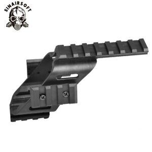 "Universal Tactical Pistol Scope Sight Laser Light Mount Quad 7/8"" For 20mm Rail"
