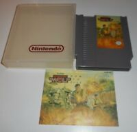 VINTAGE ORIGINAL NINTENDO NES 1988 OPERATION WOLF VIDEO GAME & MANUAL TAITO