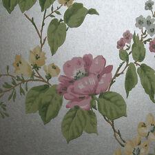 Graham & Brown Chalet Jardin Argent Bruyère Jaune Papier peint 50-438 BN 002