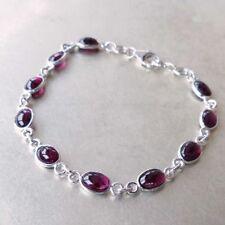 Markenlose Armbänder mit Granat-Edelsteinen für Damen