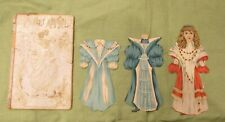 Antique 1892 Raphael Tuck SWEET ABIGAIL & COURTLY BEATRICE Victorian Paper Doll